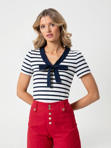 Suzie Stripe Top