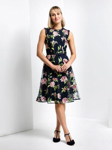 Spring Rose Dress